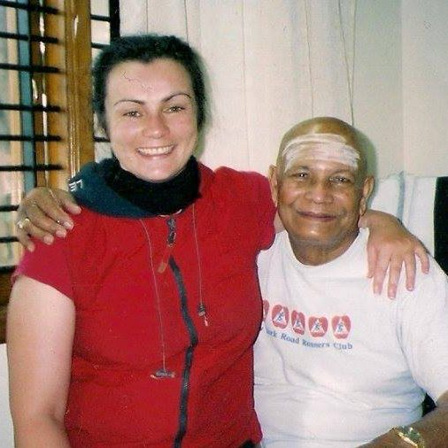 First trip to India with Pattabhi Jois -Mysore 2003